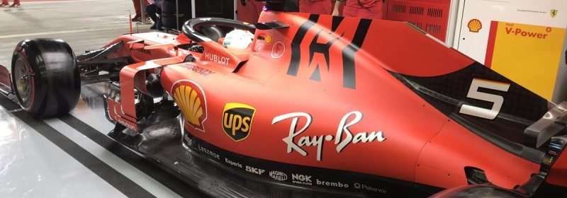 Ferrari in Spa with the third PU specification with an additional 20 HP thumbnail