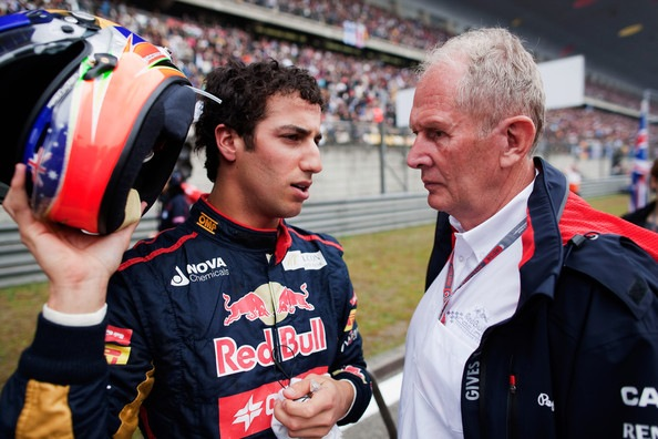 Helmut+Marko+Daniel+Ricciardo