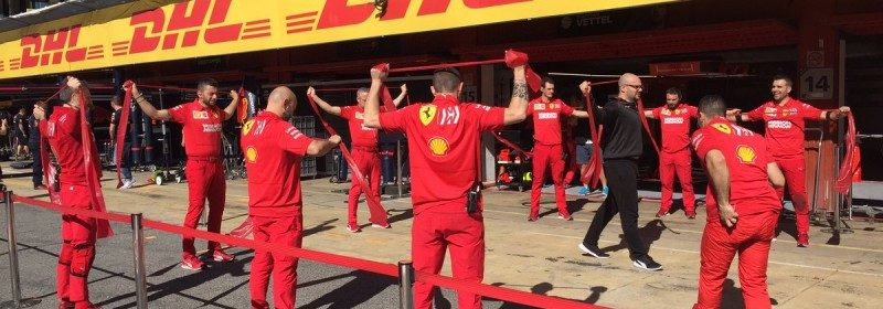 Ferrari Crew Exercise