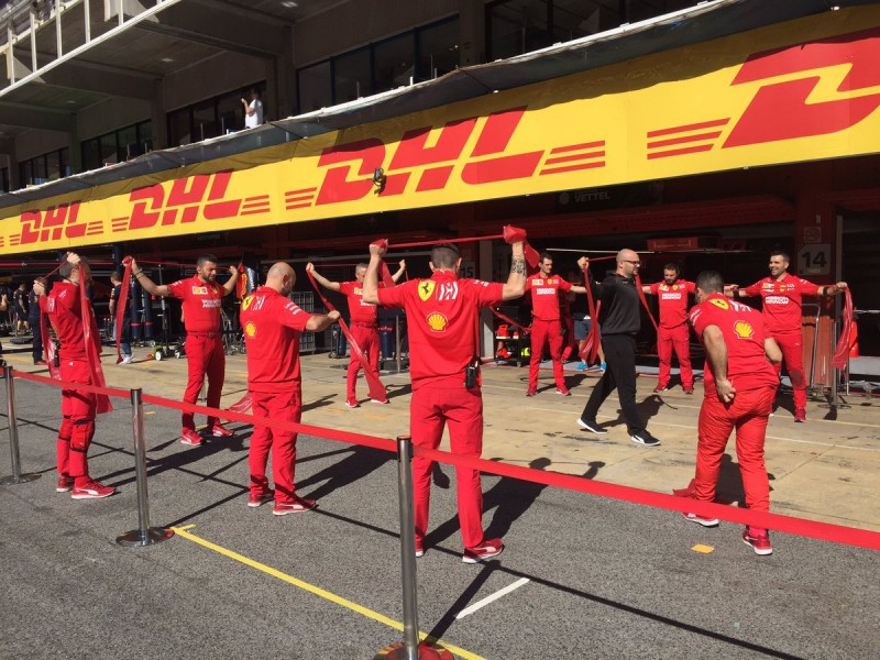 Ferrari Crew Exercise