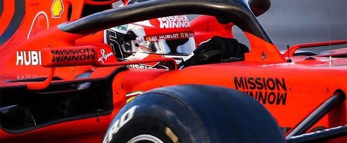 Ferrari F1 2019 leclerc