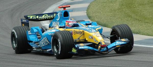 Alonso v Renaultu R25