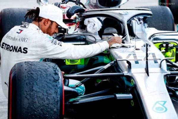 Hamilton: V F1 še nihče ni zmagal s slabim bolidom