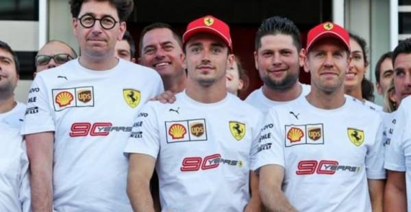 Ferrari: Vettel in Leclerc sta zgladila nesporazume