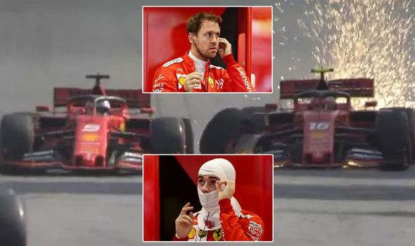 Video: Vettel in Leclerc besnela po radijski zvezi