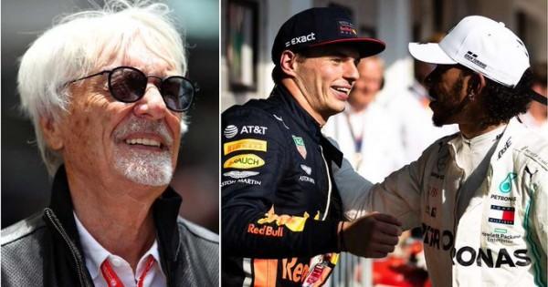 Ecclestone: Ferrari bi si bolj kot Hamiltona želel Verstappna