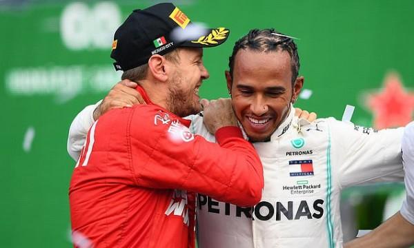 Toto Wolff: Nič ni narobe, če se Hamilton pogovarja s Ferrarijem