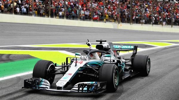 Video: Pole position krog Lewisa Hamiltona v Braziliji 2018