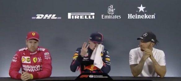 Verstappen: Ne drugi, to je moj tretji pole position