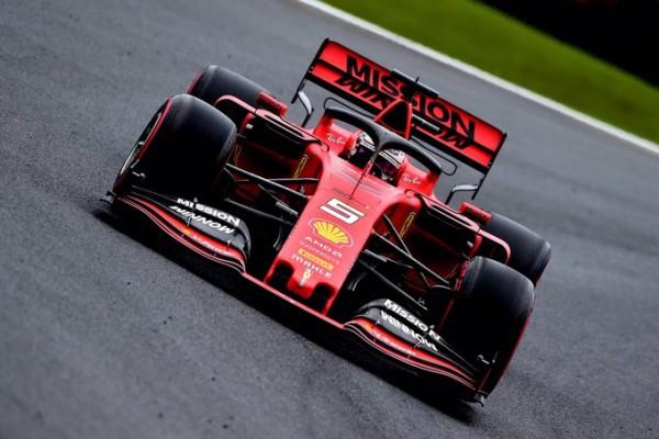 Ferrari na vrhu: Vettel tik pred Leclercom na 2. prostem treningu