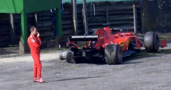 Binotto: Trčenje Vettel-Leclerc se ne bo ponovilo