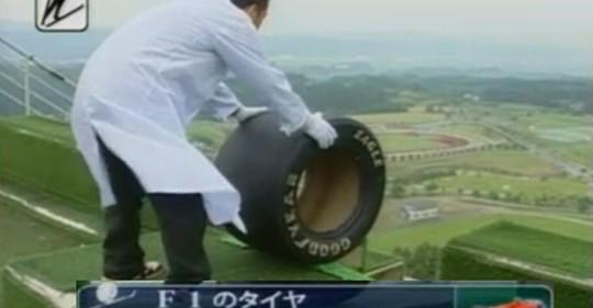 Video: Smučarski skoki z F1 pnevmatiko