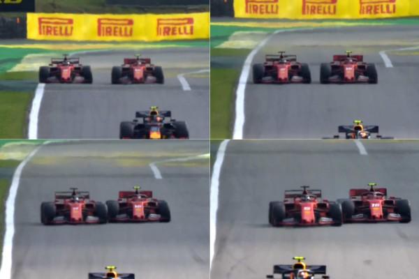Vettel: Nisem zavil v Leclerca, peljal sem naravnost