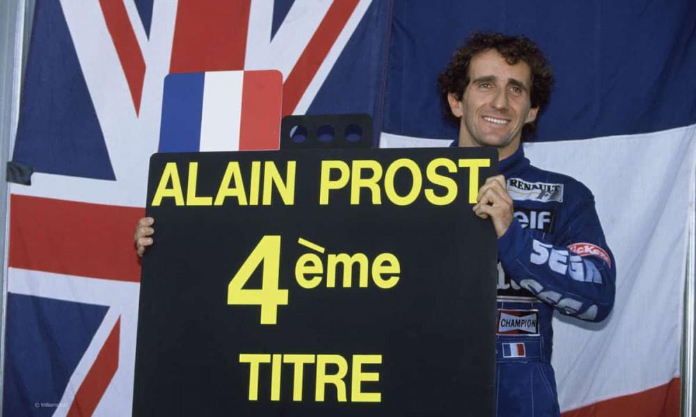F1 povratnik - Alain Prost