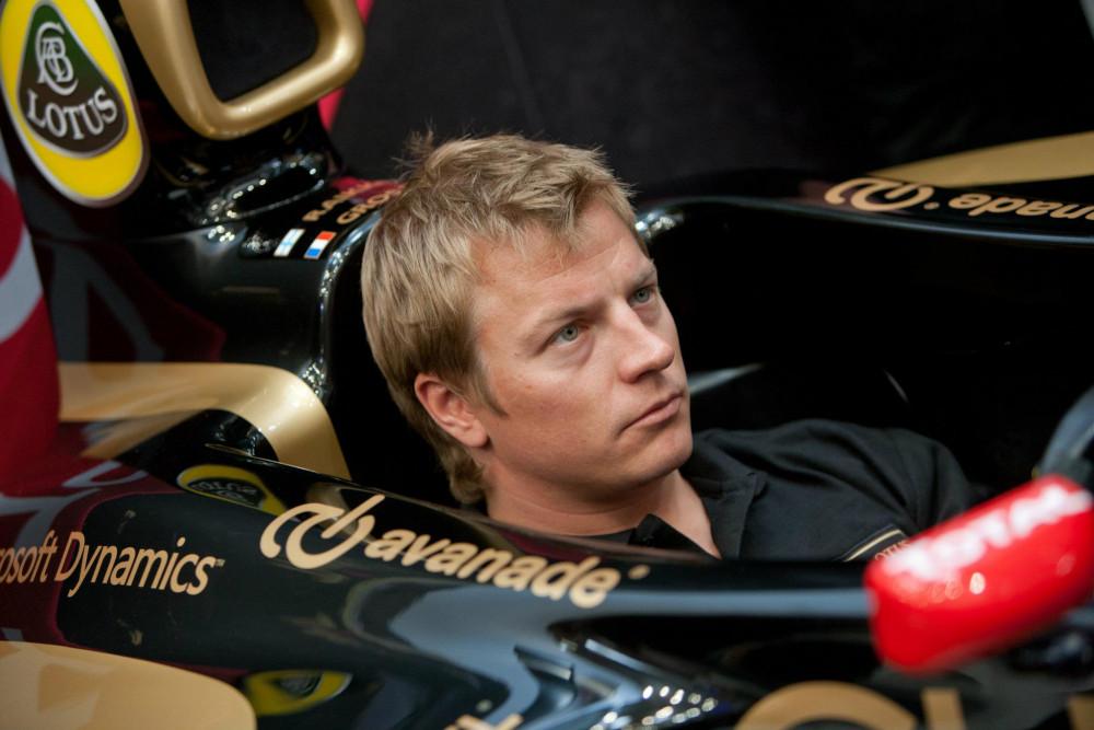 F1 povratnik - Kimi Raikkonen
