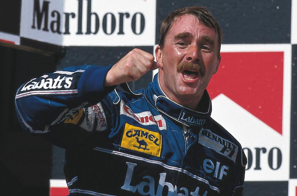 F1 povratnik - Nigel Mansell